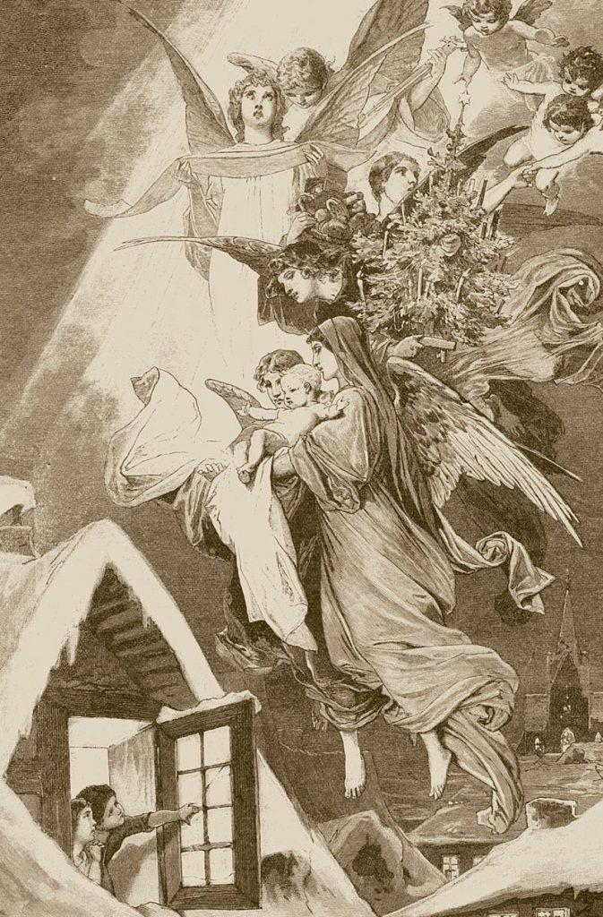 Ilustrace Ježíška v katolickém časopise Stadt Gottes z roku 1893