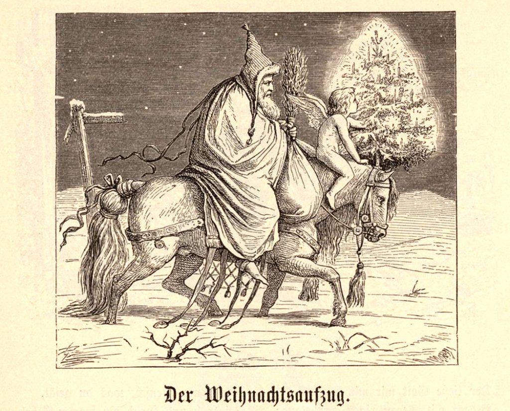 Knecht Ruprecht a Ježíšek