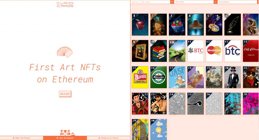 Curio Cards NFT2