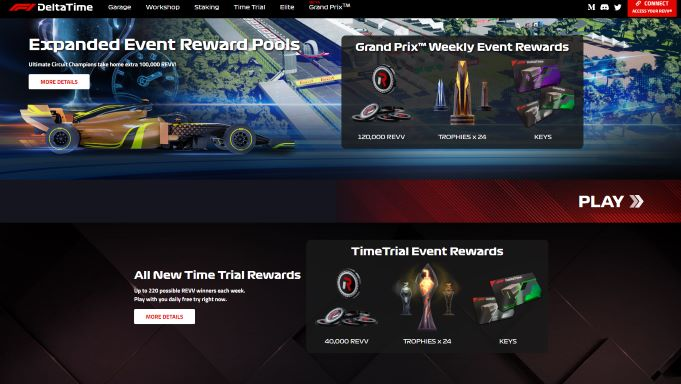 F1 Delta Times - NFT